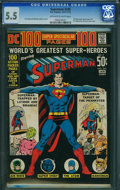 Bronze Age (1970-1979):Superhero, Superman #245 (DC, 1972) CGC FN- 5.5 Off-white to white pages.
