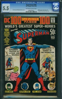 Superman #245 (DC, 1972) CGC FN- 5.5 Off-white to white pages