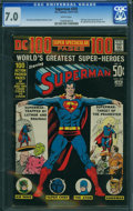 Bronze Age (1970-1979):Superhero, Superman #245 (DC, 1972) CGC FN/VF 7.0 White pages.