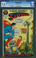 Bronze Age (1970-1979):Superhero, Superman #246 (DC, 1971) CGC FN/VF 7.0 Off-white to white pages.