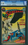 Bronze Age (1970-1979):Superhero, Superman #249 (DC, 1972) CGC FN/VF 7.0 Off-white to white pages.