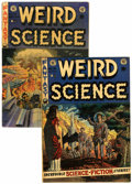 Golden Age (1938-1955):Horror, Weird Science #14 and 18 Group (EC, 1952-53) Condition: AverageVG.... (Total: 2 Comic Books)