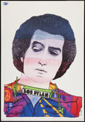 "Movie Posters:Rock and Roll, Bob Dylan Poster (JPS, 1975). Polish Music Poster (26"" X 37.5 ).Rock and Roll.. ..."