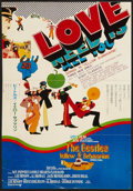 "Movie Posters:Animated, Yellow Submarine (United Artists, 1968). Japanese Speed (11"" X 16""). DS. Animated.. ..."