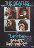"Movie Posters:Rock and Roll, Let It Be (United Artists, 1970). Japanese B2 (20.25"" X 28.5""). Rock and Roll.. ..."