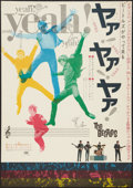 "Movie Posters:Rock and Roll, A Hard Day's Night (United Artists, 1964). Japanese B2 (20"" X28.5""). Rock and Roll.. ..."