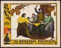 "Movie Posters:Romance, The Spanish Dancer (Paramount, 1923). Lobby Card (11"" X 14""). Romance.. ..."