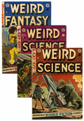Golden Age (1938-1955):Science Fiction, EC Comics Group Group (EC, 1952-53) Condition: Average FN....(Total: 3 Comic Books)