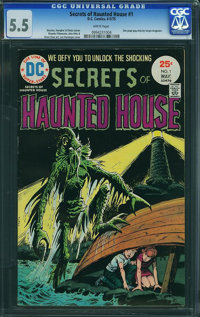 Secrets of Haunted House #1 (DC, 1975) CGC FN- 5.5 White pages