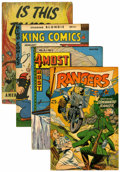 Golden Age (1938-1955):Miscellaneous, Miscellaneous Golden Age Group (Various, 1940s).... (Total: 4 Comic Books)