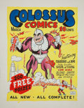 Original Comic Art:Covers, Murphy Anderson Colossus Comics #1 Cover Re-Creation Original Art (undated)....