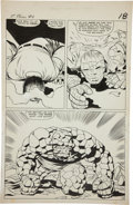 Original Comic Art:Panel Pages, Jack Kirby and Vince Colletta Fantastic Four #40 AwesomeThing page 14 Original Art (Marvel, 1965)....