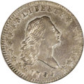 Early Half Dollars: , 1795 50C 2 Leaves AU58 NGC. O-103, R.5. This is an impressivenear-Mint example with almost full silver luster on both side...