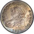 Bust Half Dollars: , 1817 50C MS64 PCGS. O-110, R.2. Among all 1817 half dollars, thisdie marriage is one of the common ones, and one of just a...