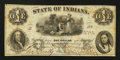 Obsoletes By State:Indiana, New Harmony, IN- J.E. Rickells Exchange and Banking Office $1 1863. ...