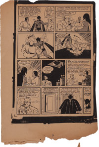 Detective Comics #27 Page 6 Proof (1939)