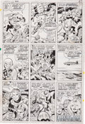 Original Comic Art:Panel Pages, Jack Kirby and Joe Sinnott Fantastic Four #100 page 20Original Art (Marvel, 1970)....
