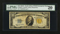 Small Size:World War II Emergency Notes, Fr. 2309* $10 1934A North Africa Silver Certificate Star. PMG Very Fine 20.. ...