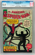 Silver Age (1956-1969):Superhero, The Amazing Spider-Man #3 (Marvel, 1963) CGC VF 8.0 Off-white pages....