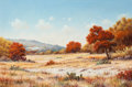 Texas:Early Texas Art - Regionalists, J.W. THRASHER (American, b. 1940). Autumn Landscape. Oil oncanvas. 24 x 36 inches (61.0 x 91.4 cm). Signed lower right:...