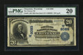 National Bank Notes:Wyoming, Cheyenne, WY - $20 1902 Date Back Fr. 643 The Citizens NB Ch. #(W)8089. ...