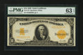 Large Size:Gold Certificates, Fr. 1173 $10 1922 Gold Certificate. PMG Choice Uncirculated 63EPQ.. ...