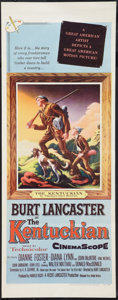 """Movie Posters:Western, The Kentuckian (United Artists, 1955). Insert (14"""" X 36"""") and Photo (8"""" X 10""""). Western.. ... (Total: 2 Items)"""