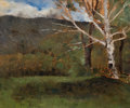 Fine Art - Painting, American:Antique  (Pre 1900), HENRY WARD RANGER (American, 1858-1916). Untitled Landscape.Oil on canvas . 15 x 18 inches (38.1 x 45.7 cm). ...