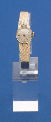 Girard Perregaux 14k Gold Wristwatch With 14k Band
