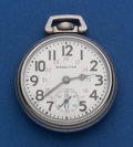 Timepieces:Pocket (post 1900), Hamilton Military 992 B Pocket Watch. ...