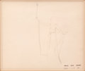Animation Art:Production Drawing, Pinocchio Blue Fairy Production Drawing Animation Art (WaltDisney, 1940)....