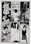 "Original Comic Art:Panel Pages, Jaime Hernandez Love and Rockets #1 ""How to Kill a... (ByIsabel Ruebens)"" page 3 Original Art (Fantagraphics, 198..."