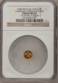 Expositions and Fairs, 1904 Token 25 Cents, Missouri Louisiana Purchase Exposition TokenMS64 NGC. 10 Stars, 0.20 gm. H-61-310....