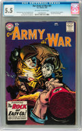 Silver Age (1956-1969):War, Our Army at War #81 (DC, 1959) CGC FN- 5.5 Off-white to white pages....