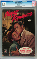 Golden Age (1938-1955):Romance, Negro Romance #1 (Fawcett, 1950) CGC FR 1.0 Brittle pages....