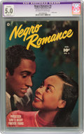 Golden Age (1938-1955):Romance, Negro Romance #2 (Fawcett, 1950) CGC Apparent VG/FN 5.0 Slight (P)Off-white to white pages....