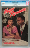 Golden Age (1938-1955):Romance, Negro Romance #3 (Fawcett, 1950) CGC GD/VG 3.0 Cream to off-whitepages....