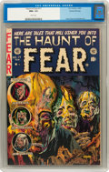 Golden Age (1938-1955):Horror, Haunt of Fear #17 Gaines File pedigree 7/12 (EC, 1953) CGC NM+ 9.6White pages....