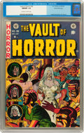 Golden Age (1938-1955):Horror, Vault of Horror #28 Gaines File pedigree 6/12 (EC, 1953) CGC NM/MT 9.8 Off-white to white pages....