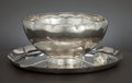 Silver Holloware, American:Punch Bowls, AN AMERICAN SILVER PUNCH BOWL SET. Whiting Manufacturing Company,New York, New York, circa 1925. Marks: (W with griffin...(Total: 3 Items Items)