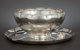 AN AMERICAN SILVER PUNCH BOWL SET Whiting Manufacturing Company, New York, New York, circa 1925 Marks: (W with griffin...