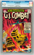 Silver Age (1956-1969):War, G.I. Combat #107 Savannah pedigree (DC, 1964) CGC NM- 9.2 Cream to off-white pages....