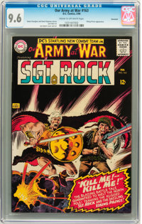 Our Army at War #163 Savannah pedigree (DC, 1966) CGC NM+ 9.6 Cream to off-white pages