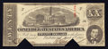 Confederate Notes:1863 Issues, Tilted Plate Letter F T58 $20 1863.. ...