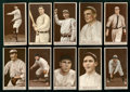 Baseball Cards:Lots, 1912 T207 Recruit Brown Background Collection (10 Different)...