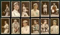 Baseball Cards:Lots, 1912 T207 Recruit Brown Background Collection (12 Different). ...