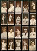 Baseball Cards:Lots, 1912 T207 Recruit Brown Background Collection (20 Different)...