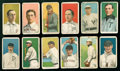 "Baseball Cards:Lots, 1909-11 T206 ""Sweet Caporal"" Collection (12) With Chase &Marquard. ..."