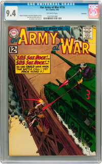 Our Army at War #116 Savannah pedigree (DC, 1962) CGC NM 9.4 Off-white pages