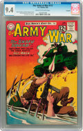 Silver Age (1956-1969):War, Our Army at War #117 Savannah pedigree (DC, 1962) CGC NM 9.4 Cream to off-white pages....